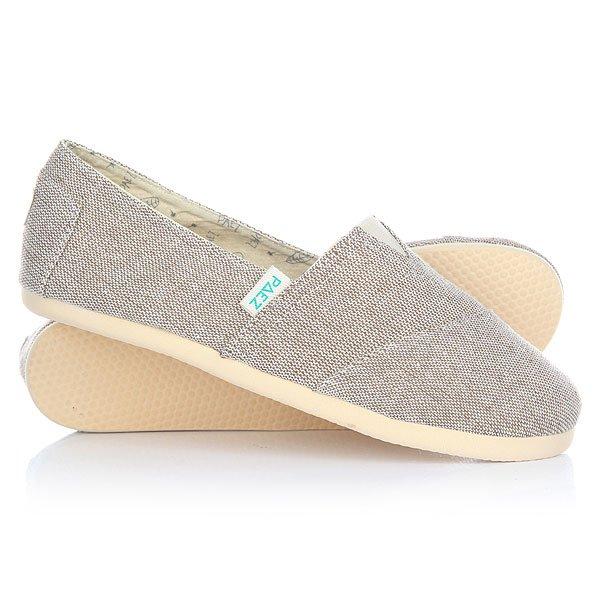 Эспадрильи женские Paez Original Combi Combi Sand-0061Удобная и легкая обувь на лето от аргентинского производителя - Paez. Стильные и качественные эспадрильи, с ортопедической стелькой, будут уместны при любой обстановке и станут отличным дополнением к Вашему гардеробу. Такая обувь отлично подойдет и для городских прогулок и для похода на пляж. Эспадрильи очень быстро сохнут и устойчивы к загрязнениям, что делает их универсальной обувью для всех!Характеристики:Состав: 100% хлопчатобумажная ткань. Подошва: 100% эвапласт (неопрен). Стелька: 100% кожа, имеет ортопедический упор под свод стопы. Быстро высыхают от влаги. Устойчивы к загрязнениям. Удобно снимаются и одеваются: верх с вшитой резинкой. Прочная отделка и качественные материалы.Удобная ортопедическая стелька из кожи с супинатором для поддержания свода стопы. Перфорация кожаной стельки обеспечивает дополнительную вентиляцию для Ваших ног. Двойная строчка с использованием прочной капроновой нити.<br><br>Тип: Эспадрильи<br>Возраст: Взрослый<br>Пол: Женский