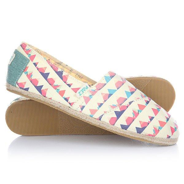 Эспадрильи женские Paez New Classic Raw Petri-0048Удобная и легкая обувь на лето от аргентинского производителя - Paez. Стильные и качественные эспадрильи, с ортопедической стелькой, будут уместны при любой обстановке и станут отличным дополнением к Вашему гардеробу. Такая обувь отлично подойдет и для городских прогулок и для похода на пляж. Эспадрильи очень быстро сохнут и устойчивы к загрязнениям, что делает их универсальной обувью для всех!Характеристики:Быстро высыхают от влаги. Устойчивы к загрязнениям. Удобно снимаются и одеваются: вшитые резинки по бокам. Прочная отделка и качественные материалы.Удобная ортопедическая стелька из кожи с супинатором для поддержания свода стопы. Перфорация кожаной стельки обеспечивает дополнительную вентиляцию для Ваших ног. Двойная строчка с использованием прочной капроновой нити.Оплетка джутом.<br><br>Тип: Эспадрильи<br>Возраст: Взрослый<br>Пол: Женский