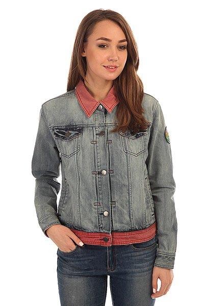 Куртка джинсовая женская Billabong Santa Monica Light Well Worn