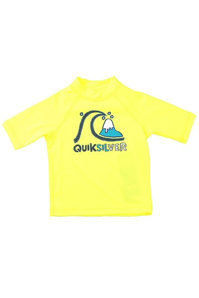 Гидрофутболка детская Quiksilver Bubble Kids Ss Safety Yellow
