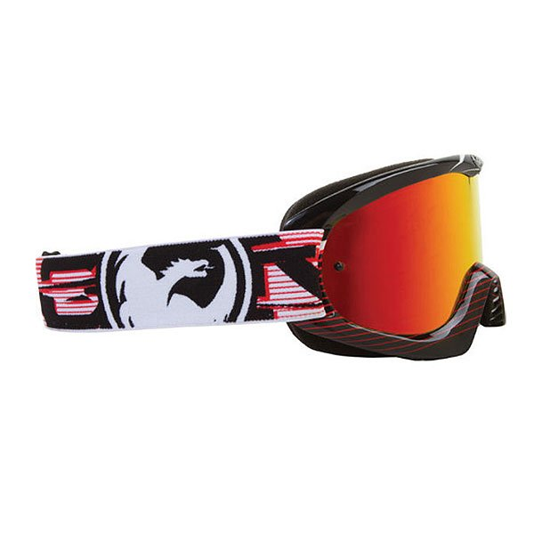 Маска Dragon Mdx Nerve Red Red Ionized/Clear Aft