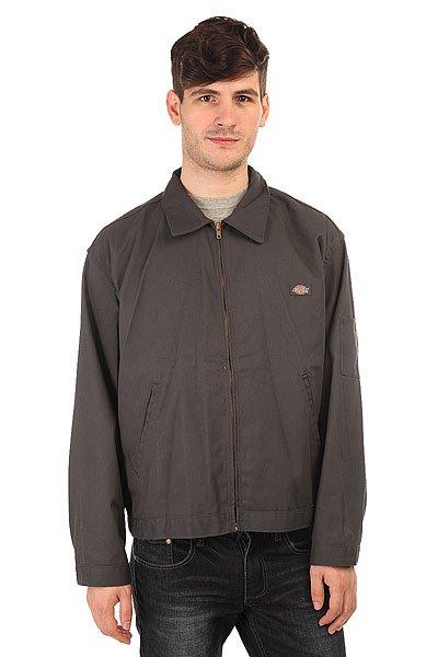 Куртка Dickies Unlnd Ike Diw Charcoal<br><br>Цвет: серый<br>Тип: Куртка<br>Возраст: Взрослый<br>Пол: Мужской