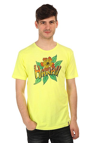 Футболка Lost Vintage Hawaii Yellow<br><br>Цвет: желтый<br>Тип: Футболка<br>Возраст: Взрослый<br>Пол: Мужской