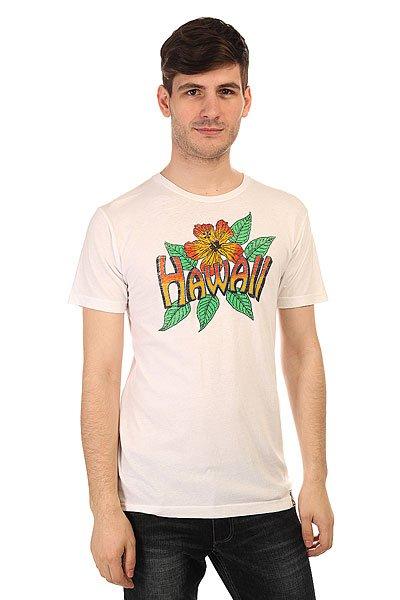 Футболка Lost Vintage Hawaii White<br><br>Цвет: белый<br>Тип: Футболка<br>Возраст: Взрослый<br>Пол: Мужской