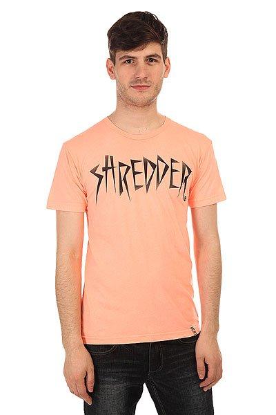 Футболка Lost Shredder Pink<br><br>Цвет: розовый<br>Тип: Футболка<br>Возраст: Взрослый<br>Пол: Мужской