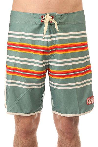 Шорты пляжные Lost Whipper Green<br><br>Цвет: зеленый<br>Тип: Шорты пляжные<br>Возраст: Взрослый<br>Пол: Мужской