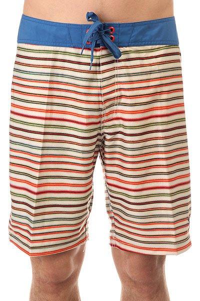 Шорты пляжные Lost Stringer Stripe Blue<br><br>Цвет: мультиколор<br>Тип: Шорты пляжные<br>Возраст: Взрослый<br>Пол: Мужской