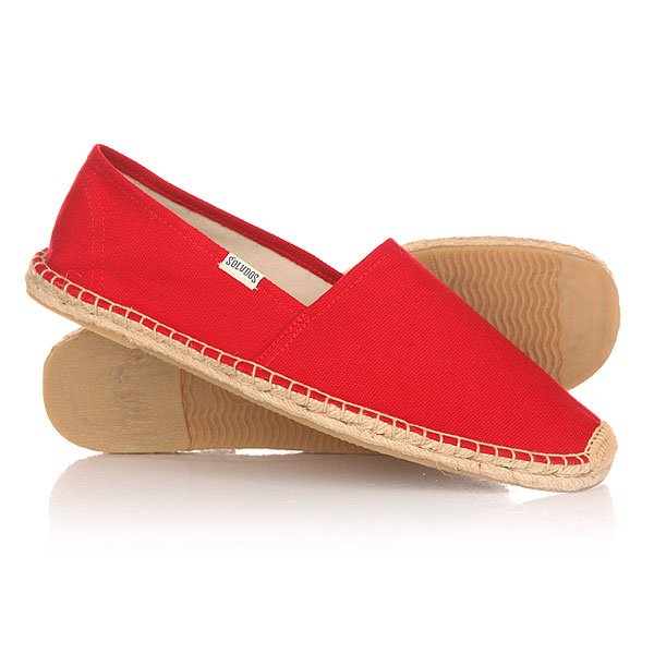 Эспадрильи Soludos Original Dali Red