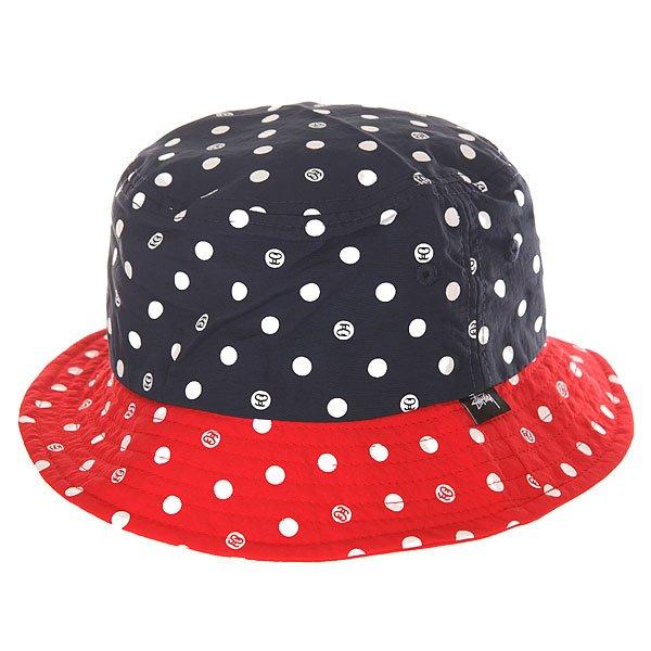 ������ ������� Stussy Dot Bucket Hat Navy