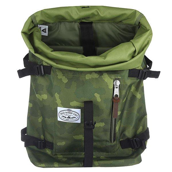 Рюкзак туристический Poler Retro Rucksack Green Camo