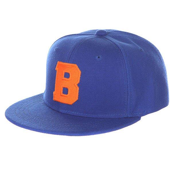 Бейсболка с прямым козырьком TrueSpin Abc Royal B Blue