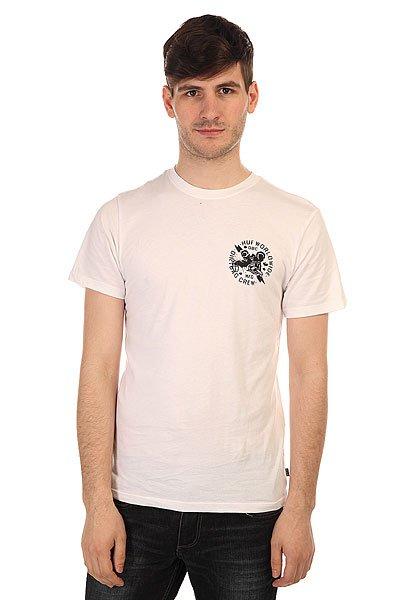 Футболка Huf Vermin Tee White<br><br>Цвет: белый<br>Тип: Футболка<br>Возраст: Взрослый<br>Пол: Мужской