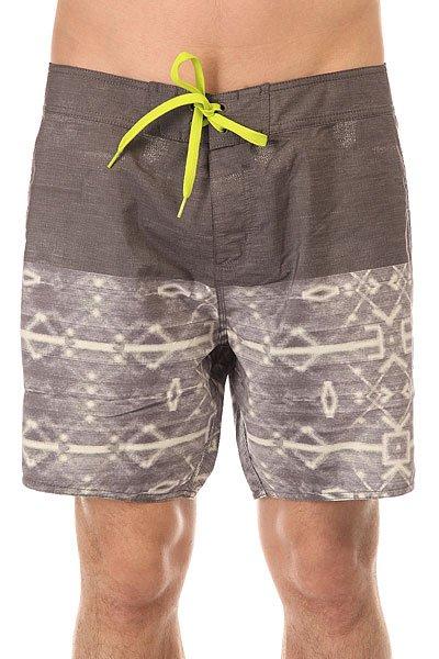 Шорты пляжные Mystic Igagasi Boardshort 16 Multi Colour<br><br>Цвет: серый<br>Тип: Шорты пляжные<br>Возраст: Взрослый<br>Пол: Мужской