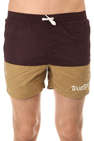 Шорты пляжные TrueSpin Core Shorts Brown/Wheat