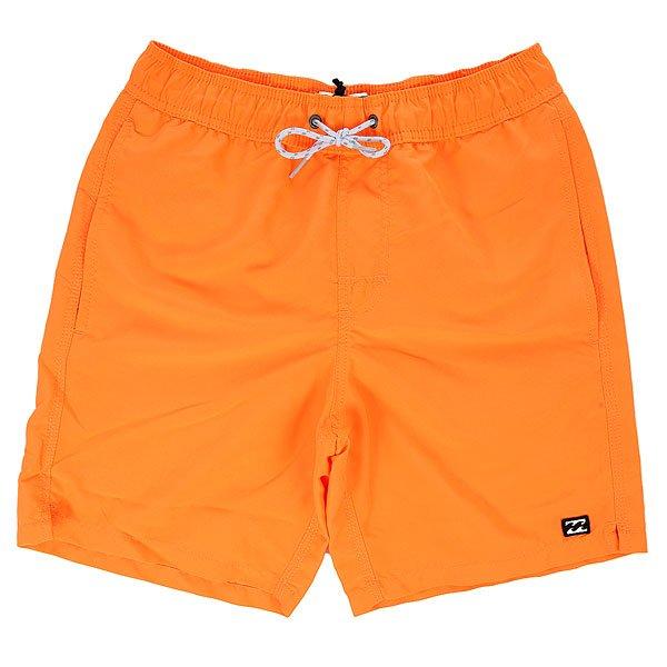 Шорты пляжные детские Billabong All Day Shor. Lay. 1 Neo Orange<br><br>Цвет: оранжевый<br>Тип: Шорты пляжные<br>Возраст: Детский