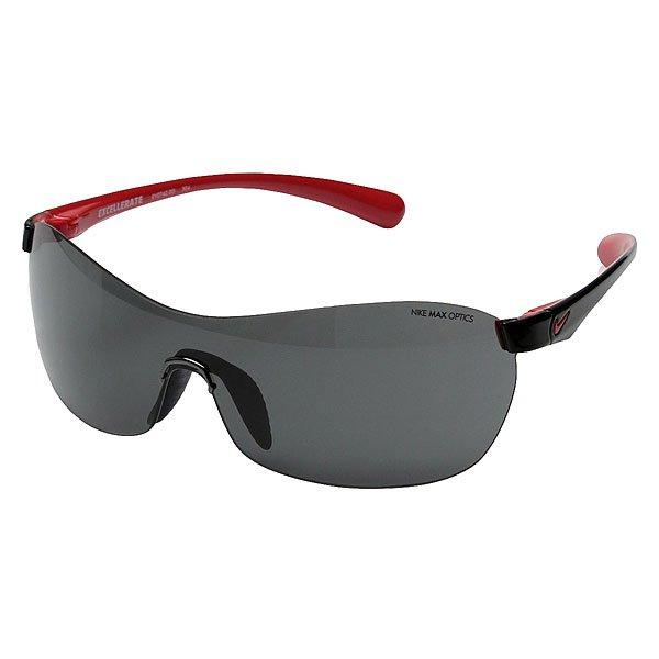 Очки Nike Optics Excellerate Black/Grey LensУменьшенная конструкция объектива, которая лучше всего подойдет для женщин. Легкая и комфортная оправа, а также резиновые носовые упоры обеспечат комфортную посадку.Технические характеристики: Легкий нейлоновый каркас для комфорта и долговечности.100% защиты от УФ-лучей.Петли Cam-action.Технология Nike Max Optics - это передовое высокоточное оптическое решение для спортсменов. В сочетании с фотохромной технологией Transitions эти линзы способны адаптироваться к различным условиям спортивной деятельности и к изменениям освещения. Идеальные линзы для самых высоких спортивных результатов.Спортивный дизайн оправы обеспечивает превосходную посадку и сводит к минимуму визуальные помехи.Регулируемые и вентилируемые носовые упоры.Логотип Nike.Ширина оправы 14 см, длина дужки 13 см, ширина линзы 6,2 см, высота линзы 4,4 см.<br><br>Цвет: черный<br>Тип: Очки<br>Возраст: Взрослый<br>Пол: Мужской