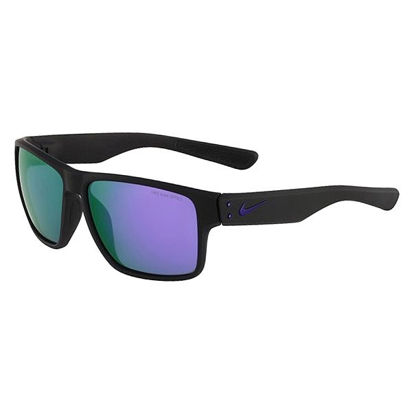 Очки Nike Optics Mavrk R Matte Black/Electric Purple Grey /Ml Violet Flash Lens