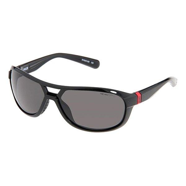 Очки Nike Optics Miler Black Grey LensСолнцезащитные очки Nike Miler идеально подходят для бега, обеспечивая устойчивость, комфорт и защиту от соскальзывания в сочетании со стильным дизайном.Технические характеристики: Композитный пластик.Специальная спортивная форма увеличивает охват и минимизирует помехи.100% защиты от УФ-лучей.Мягкие носовые упоры.Технология Nike Max Optics - это передовое высокоточное оптическое решение для спортсменов. В сочетании с фотохромной технологией Transitions эти линзы способны адаптироваться к различным условиям спортивной деятельности и к изменениям освещения. Идеальные линзы для самых высоких спортивных результатов.Логотип Nike.Ширина оправы 14,5 см, длина дужки 13 см, высота оправы 5 см.<br><br>Цвет: черный<br>Тип: Очки<br>Возраст: Взрослый<br>Пол: Мужской