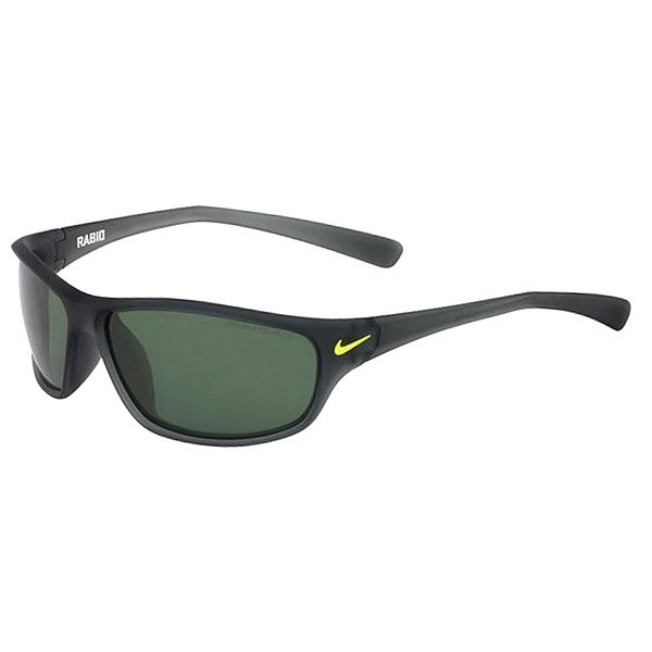 Очки Nike Optics Rabid P Matte Crystal Mercury Grey/Volt Green Polarized Lens floral trees forest print tapestry wall hanging art