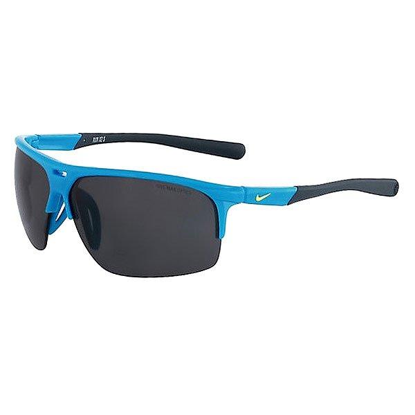 Очки Nike Optics Run X2 S Blue Lagoon/Dark Magnet Grey Lens lole капри lsw1949 run capris s twilight blue