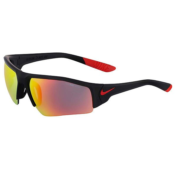 Очки Nike Optics Skylon Ace Xv Pro R Matte Black/Challenge Red/Grey /Ml Red Flash Lens