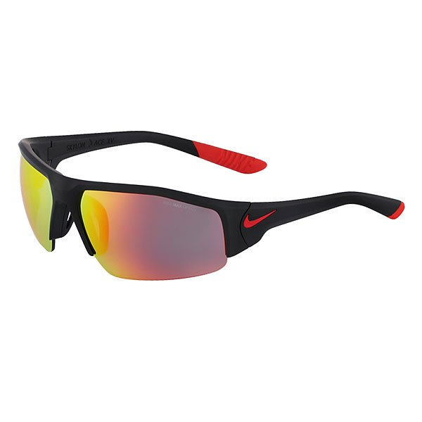 ���� Nike Optics Skylon Ace Xv Matte Black/Challenge Red/Grey /Ml Red Flash Lens