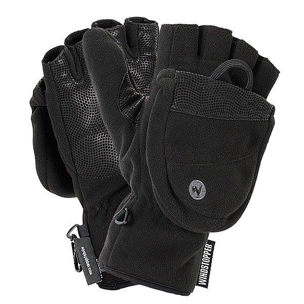 Перчатки сноубордические Marmot Windstopper Convertible Glove BlackИдеальные перчатки на любой сезон. Уникальная магнитная застежка позволит в считанные секунды преобразовать перчатки в теплые варежки, а мембрана GORE-TEX® WINDSTOPPER® убережет пальцы от мороза.Технические характеристики: Моющаяся кожа.Мембрана Gore® Windstopper® Fleece.Легко преобразовать перчатки в варежки.Уникальная магнитная застежка.Армированное покрытие ладони.Петля-карабин.<br><br>Цвет: черный<br>Тип: Перчатки сноубордические<br>Возраст: Взрослый<br>Пол: Мужской
