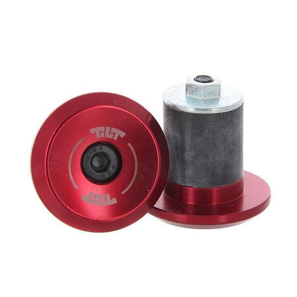 Заглушка на грипсы Tilt Beacon 31 Bar Ends large RedАлюминиевые заглушки для руля стандартного размера.Технические характеристики: Заглушки изготовлены из прочного алюминия 7075-T6.Логотип Tilt.<br><br>Цвет: черный,бордовый<br>Тип: Заглушка на грипсы