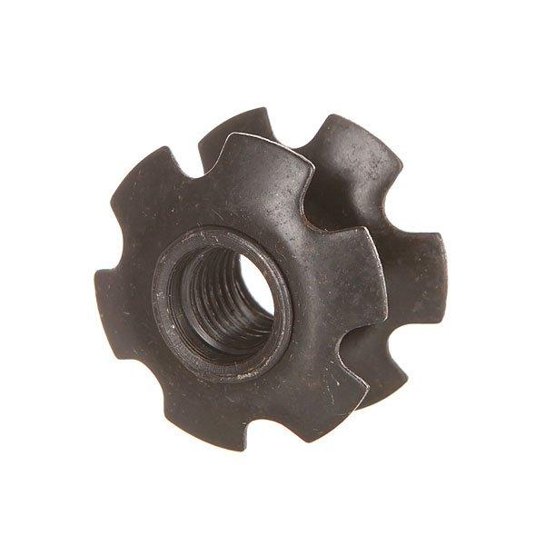 Шайба Ethic Starnut 10 Mm BlackШайба для самоката Ethic.Технические характеристики: Материал - сталь.Подходит для всех рулей 31,8 мм.<br><br>Цвет: черный<br>Тип: Шайба