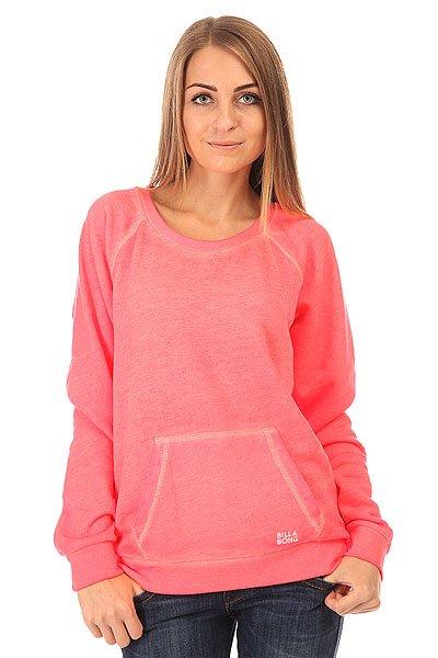Толстовка кенгуру женская Billabong Essential Cr Neon Coral<br><br>Цвет: розовый<br>Тип: Толстовка кенгуру<br>Возраст: Взрослый<br>Пол: Женский