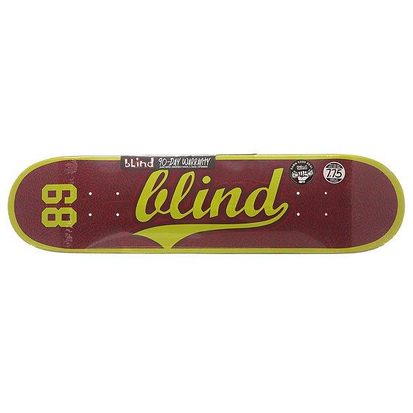 Дека для скейтборда для скейтборда Blind S6 Athletic Skin Rhm Plum 31.2 x 7.75 (19.7 см)