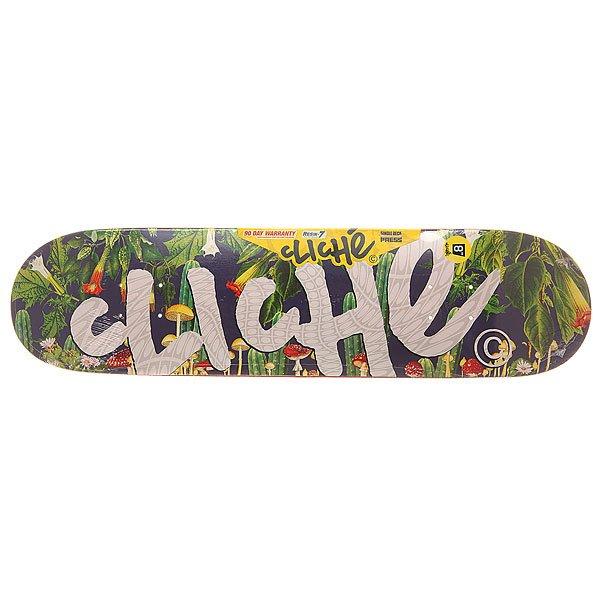 Дека для скейтборда для скейтборда Cliche S6 Hyb Handwritten Psyche Multi 31.6 x 8 (20.3 см)