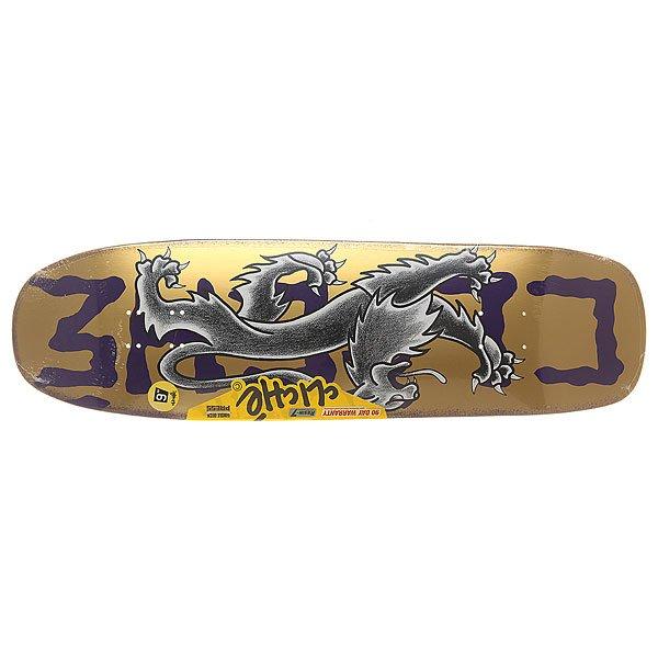 Дека для скейтборда для лонгборда Cliche S6 R7 Lyon By Dressen Violet 32 x 9 (22.9 см)