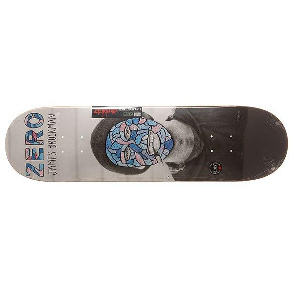 Дека для скейтборда для скейтборда Zero S6 R7 Brockman Reportrait 31.9 x 8.375 (21.3 см)Ширина деки: 8.375 (21.3 см)    Длина деки: 31.9 (81 см)    Количество слоев: 7Про модель James Brockman. Качественная и очень прочная дека из 7 слоев прессованного канадского клена и эпоксидного клея.Технические характеристики: Прессованная конструкция   RESIN-7  из 7 слоев канадского клена и клея из эпоксидной смолы.Конкейв X-15.Форма Popsicle.Колесная база 36,2 см.<br><br>Цвет: мультиколор<br>Тип: Дека для скейтборда<br>Возраст: Взрослый<br>Пол: Мужской
