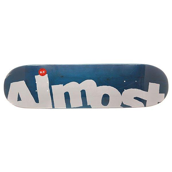 Дека для скейтборда для скейтборда Almost S6 Hyb Side Pipe Blue 32 x 8.5 (21.6 см)Ширина деки: 8.5 (21.6 см)    Длина деки: 32 (81.3 см)    Количество слоев: 7Легкая и прочная дека из прессованного 100% канадского клена с добавлением клея из эпоксидной смолы. Подходит для любого стиля катания на любой местности.Технические характеристики: Прессованная конструкция RESIN-7 из 7 слоев канадского клена и клея из эпоксидной смолы.Конкейв Full.Колесная база 36,83 см.<br><br>Цвет: синий,белый<br>Тип: Дека для скейтборда<br>Возраст: Взрослый<br>Пол: Мужской