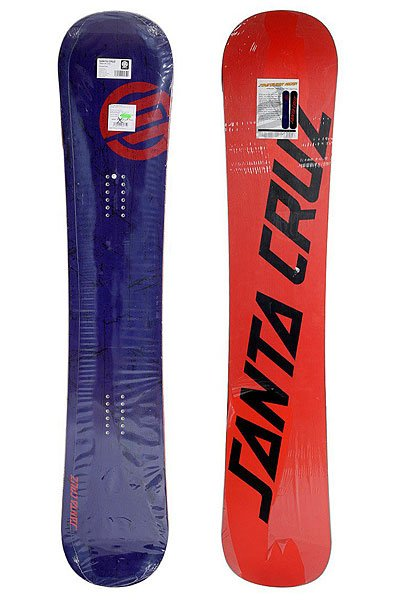 Сноуборд Santa Cruz Scratchdot Snap Rocker 154 True Twin Blue