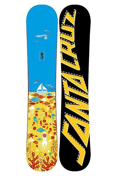 Сноуборд Santa Cruz Squid 152 OrangeСноуборд Santa Cruz Squid - женский сноуборд для начинающих и прогрессирующих бордисток. Фристайловая доска с прогибом Snap! Rocker и симметричной геометрией. Отлично подойдет для уверенно катающихся барышень, которые любят проводить много времени на склоне или в сноу-парках. Характеристики:Hetero Biax Tech Laminate 45+ (Облегченное покрытие с плетением в 2 нити). HCM Fly+:доработанный сердечник HMC из тополя. Конструкция с облегченными вставками и двумя слоями стекловолокна. Speed X3000 - простой, долговечный и ремонтопригодный материал. Характерные особенности – хорошие абсорбирующие свойства этого материала, повышенная устойчивость к абразивному воздействию в сочетании с отличными скользящими характеристиками.<br><br>Цвет: оранжевый<br>Тип: Сноуборд<br>Возраст: Взрослый<br>Пол: Мужской