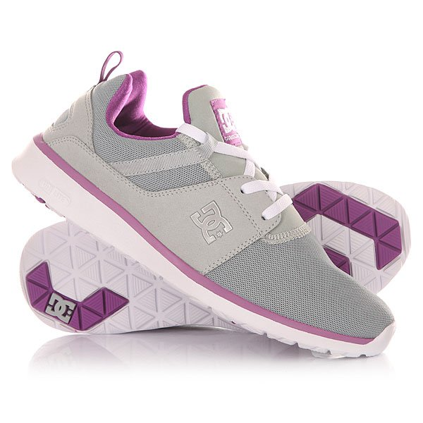 Кроссовки женские DC Heathrow Armor/Purple dc shoes кеды dc heathrow 8