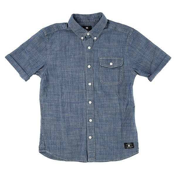 Рубашка детская DC Shoes Riot Van Indigo Chambray