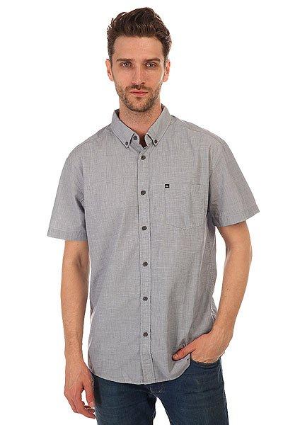 Рубашка Quiksilver Wilsdenss Dark Denim<br><br>Цвет: голубой<br>Тип: Рубашка<br>Возраст: Взрослый<br>Пол: Мужской