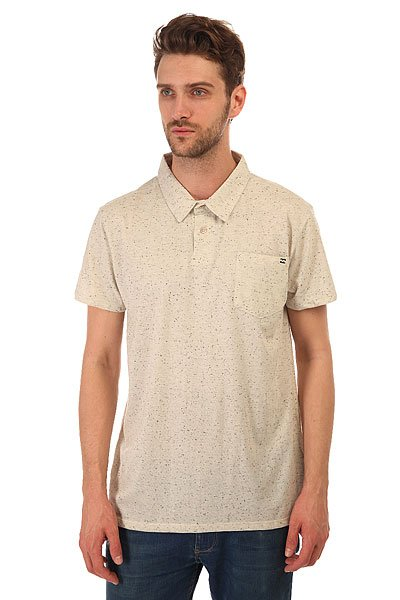 Футболка Billabong Standard Issue Polo Bone