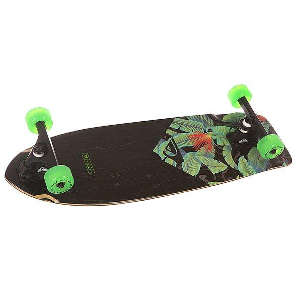 Скейт круизер Quiksilver St Amazon Black 9.8 x 30 (76 см) quiksilver скейт