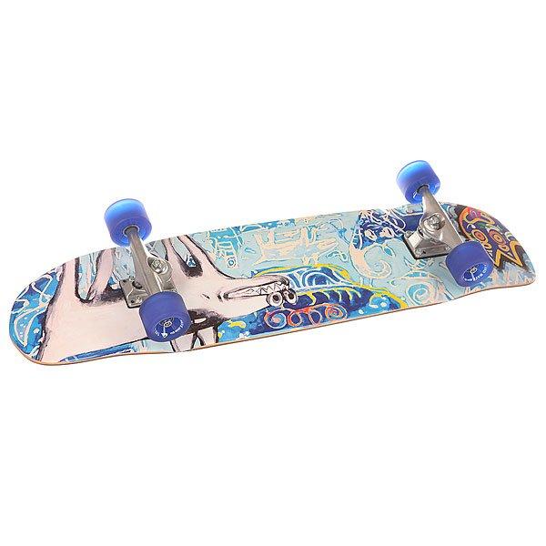 Скейт круизер Quiksilver Shakacruise M Multicolour 9 x 35 (89 см)Универсальный гибридный скейт, который подойдет для катания на любой местности.Технические характеристики: Материал - канадский клен.Песчаная шкурка.Подвеска - classic kingpin.Длина деки - 89 см, ширина - 23 см.Колеса 65 мм, 83А.<br><br>Цвет: мультиколор<br>Тип: Скейт круизер<br>Возраст: Взрослый<br>Пол: Мужской