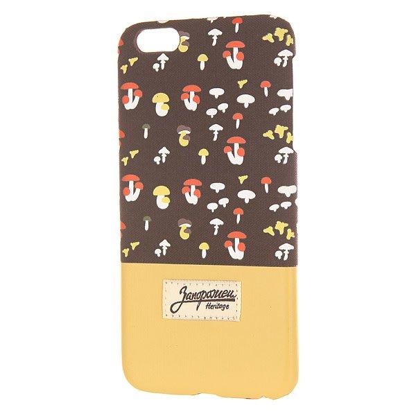 все цены на Чехол для iPhone 6 Plus Запорожец Грибочки Brown/Sand онлайн