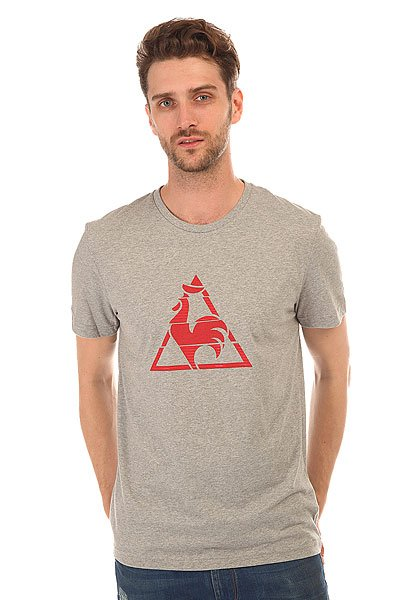 Футболка Le Coq Sportif Chronic Tee Light Heather Grey