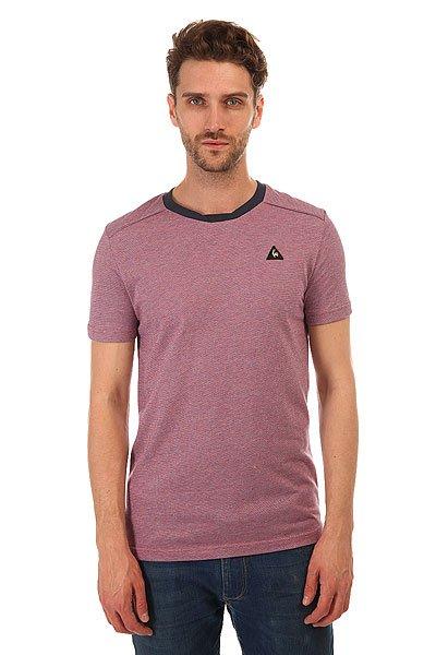 Футболка Le Coq Sportif Clarity Tee Jacquard WhiteСтильная мужская футболка Le Coq Sportif выполнена из хлопкового трикотажа – то, что вы искали для летнего гардероба.Характеристики:Модель прямого кроя. Круглый вырез.Короткий рукав. Принт на груди.<br><br>Цвет: синий,красный,белый<br>Тип: Футболка<br>Возраст: Взрослый<br>Пол: Мужской