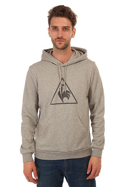 Толстовка кенгуру Le Coq Sportif Affutage Po Hood Unbr Light Heather Grey толстовка кенгуру quiksilver keller hood wild ginger