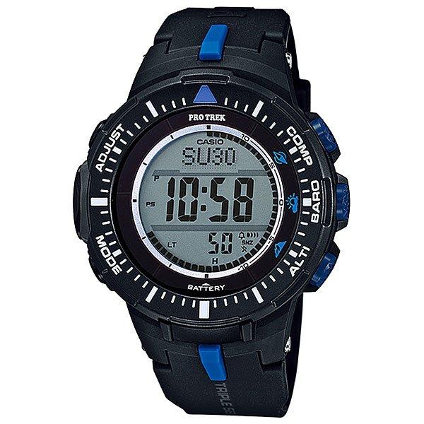 Электронные часы Casio Sport PRG-300-1A2 NavyФункциональные наручные часы в спортивном корпусе из полимерного пластика. Часы обладают широким набором опций, которые просто незаменимы при длительных поездках или путешествии, а также для людей, чей образ жизни тесно связан со спортом.Технические характеристики: Полностью автоматическая светодиодная подсветка.Устойчивый к низким температурам (-10 °C).Солнечная батарейка.Цифровой компас.Барометр (260 / 1.100 гПа).Термометр (-10°C / +60°C).Высотометр 10,000 м.График набора высоты.Память данных высотометра.Данные о восходе/закате солнца.Функция мирового времени.Функция секундомера - 1/10 сек - 1.000 часов.Таймер - 1/1 мин. - 24 часа.5 ежедневных будильников.Функция повтора будильника.Включение/выключение звука кнопок.Автоматический календарь.12/24-часовое отображение времени.Минеральное стекло.Корпус из полимерного пластика.Ремешок из полимерного материала.Индикатор уровня заряда батарейки.Точность +/- 15 сек в месяц.<br><br>Цвет: синий<br>Тип: Электронные часы<br>Возраст: Взрослый<br>Пол: Мужской