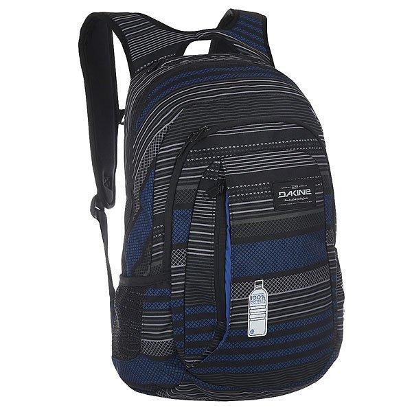 Рюкзак городской Dakine Factor SkywayКомпактный городской рюкзак со множеством отделений для самых разных вещей дополнен удобными плечевыми ремнями и нагрудным ремнем для удобной переноски.Технические характеристики: Материал - полиэстер 600D из переработанных пластиковых бутылок.Основное отделение на молнии.Мягкий карман для ноутбука 14.Сетчатые боковые карманы.Карман на флисовой подкладке для солнцезащитных очков.Эргономичные плечевые ремни с ручкой.Регулируемый нагрудный ремень.Логотип Dakine.<br><br>Цвет: серый,синий<br>Тип: Рюкзак городской<br>Возраст: Взрослый<br>Пол: Мужской