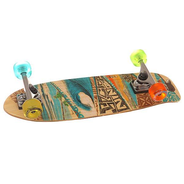 Скейт мини круизер Sector 9 Bambino Multi 7.5 x 26.5 (67.3 см)Надёжный скейт из вертикально ламинированной древесины бамбука.Технические характеристики: Ламинированный бамбук.Колесная база 36,2 см.Подвеска Gullwing Mission 20,3 см.Колеса Centerset Nineball 61мм 78a.Подшипники PDP Abec 5.Накладки из переработанного пластика.Болты из закаленной стали.Шкурка Clear.<br><br>Цвет: мультиколор<br>Тип: Скейт мини круизер